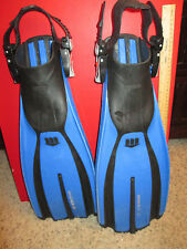 Mares Plana Avanti X-3 Scuba Diving Fins Size Small Blue Free Bag Made in Italy