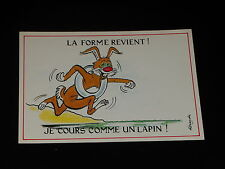 CARTE POSTALE - LAPIN - 1 - ALEXANDRE - ANNEES 1980  - HUMOUR