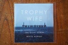 TROPHY WIFE 'The Quiet Earth' + 'White Horses' promo CD