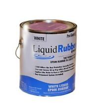 Liquid Rubber - Liquid EPDM Coating - 1 Gallon Black