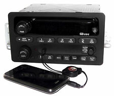 Chevy GMC S10 Truck & Van 2001-2003 Radio AM FM CD w Aux Input 15091316 RDS UN0