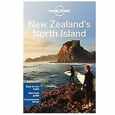 Lonely Planet New Zealand's North Island (Travel Guide)-ExLibrary