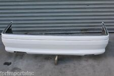 95 96 97 MERCEDES W202 C36 AMG OEM REAR BUMPER ASSEMBLY WHITE