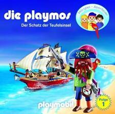 Playmos,die - (1)der Schatz der Teufelsinsel (Relaunch) - CD