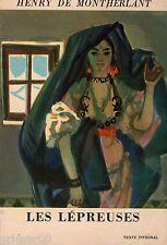 Les lépreuses / Les jeunes filles - Tome IV // Henry de MONTHERLANT // 1963