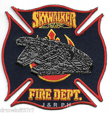"Skywalker Ranch, CA  Maltese Cross  (3.75"" x 3.75"" size)  fire patch"