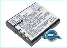 3.7V battery for Sony Cyber-shot DSC-W100, Cyber-shot DSC-W290/B, Cyber-shot DSC