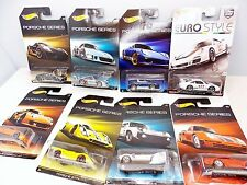 Hot Wheels Porsche Series - NEAR MINT - WalMart Exclusive Issue 8 Car Series