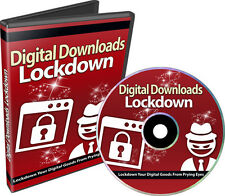 Digital Downloads Lockdown- How to Protect Your Digital Goods From Prying Eyes