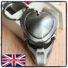 Predator Mask Metal Keychain Keyring AvP Alien vs Predator *UK SELLER*