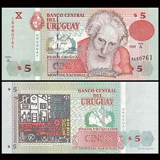 Uruguay 5 Pesos, 1998, P-80, UNC
