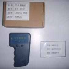Handheld 125Khz RFID Duplicator Copier Writer for EM4100 T5577 Card Tag