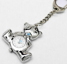Original Me To You Teddy Bear Metal Key Ring with Working Watch in Gift Box