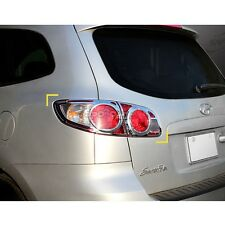 K-544 Car Chrome Rear Tail Lamp Cover for Hyundai Santa Fe / CM 2007-2009