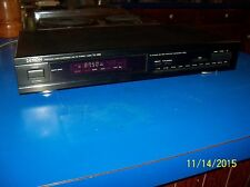 VINTAGE DENON Digital AM-FM TUNER TU-280 EXC- Black-Face