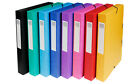 PRESSBOARD 20 MM A4 O RING BINDER FILES 5 COLOURS BLUE BLACK GREEN RED YELLOW
