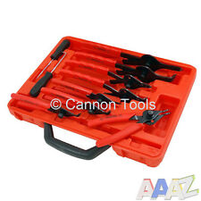 11pc Mechanics Internal & External Circlip Plier Tool Set Snap Ring Pliers
