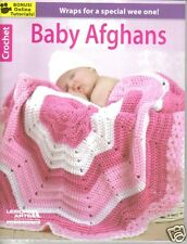 """""""Baby Afghans """"  ~ Leisure Arts, Crochet Book  ~ BRAND NEW"""