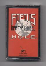 SCRAPING FOETUS OFF THE WHEEL - Hole SEALED Cassette rare! PVC
