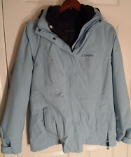 Schoffel Sion Inzip 3-in-1 Gore-Tex Hooded Jacket -- Size L (UK 14) -- Lt Blue