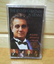 1996 THE  BEST OF CHRISTMAS IN VIENNA Placido Domingo  Cassette  New sealed