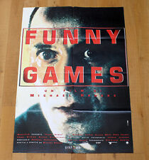 FUNNY GAMES poster manifesto affiche Michael Haneke Naomi Watts Tim Roth 2007