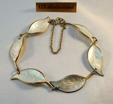 Chices David Andersen Emaille Armband Silber Emaile enamel bracelet / AX 442