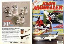 RADIO MODELLER MAGAZINE 1991 DEC PETER MILLER'S AZTEC TWO STEP FREE PLANS