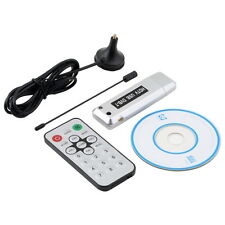 USB 2.0 DVB-T Digital TV Receiver HDTV Tuner Dongle Stick Antenna IR Remote H2