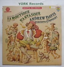 35842 - ROSSINI - RESPIGHI - La Boutique Fantasque DAVIS TORONTO SO Ex LP Record