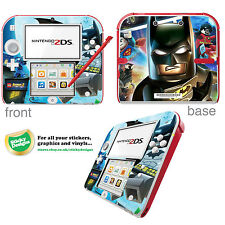 Lego Batman 2 DC Super Heroes Vinyl Skin Sticker for Nintendo 2DS