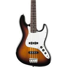 New Fender Starcaster J Bass Guitar - 3 Tone Sunburst FREE CABLE