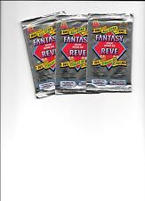 1993-94 Mcdonalds Upper Deck Fantasy Hockey Unopened Packs x 3 Pack LOT