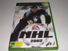 NHL 2002 EA Sports XBOX Original PAL Preloved *Complete*