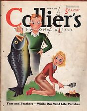 1938 Colliers March 26 - Fishing; Bullfight; Highway safety; Baseball; Marquand