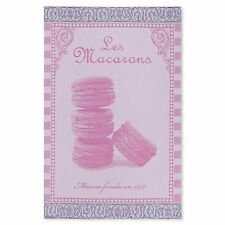 Coucke French Jacquard Cotton Kitchen Dish/Tea Towel Macaroons PJ Rose