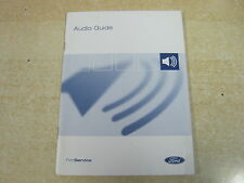 FORD AUDIO GUIDE 1000,2000,3000,4000,4050,5000,6000, 9006   RADIO MANUAL BOOK