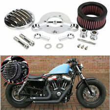 CNC Air Cleaner Intake Filter System Kit for Harley sportster XL883 XL1200 04-15