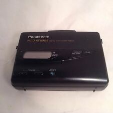 PANASONIC RQ-V185 AM/FM Cassette Tape Player Radio digital tuner auto reverse