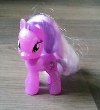 My Little Pony G4 FIM Wysteria Brushable Figure - Glitter - Translucent
