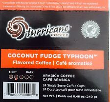 96 HURRICANE COFFEE - Coconut Fudge Typhoon - KEURIG K-Cups - Nov-3-2015