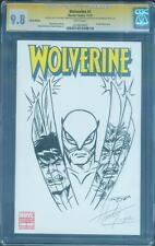 Wolverine 1 Variant CGC 9.8 SS Herb Trimpe Incredible Hulk 181 Windgo art Sketch