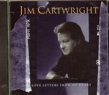 JIM CARTWRIGHT - Love Letters from My Heart - CD - NEW