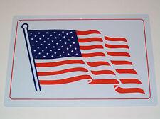 American Flag Sign Decoration For Man Cave Garage Band Workshop Bar Biker Club