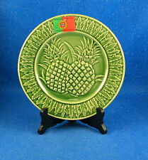 """Neuwirth Company 4 """"Pineapple""""  Pattern Accent Plates Hand Made in Portugal NEW"""