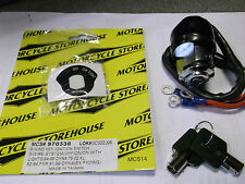 MOTORCYCLE STOREHOUSE REPLACEMENT IGNITION SWITCH 1994-99 DYNA/XL/FXR BC21037 -T