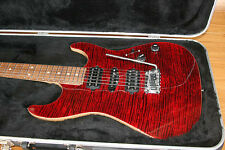 Suhr Guitars Standard | Korina Custom Chili Pepper Red