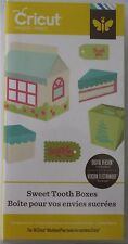 SWEET TOOTH BOXES 3D shape cricut cartridge - NEW in BOX