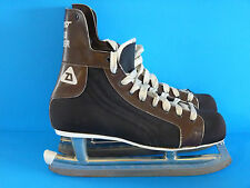 Vtg DAOUST Road Runner Ice Hockey Skates NHL Officialy Approuved Made in Canada