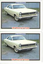 1967 Mercury Cyclone 427 baseball card sized cards - Must See!! - lot of 2